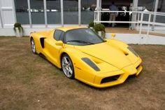 Ferrari enzo amarela