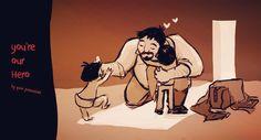Long versione #happyfathersday #drawings #sketch #aryanimation by arya_rodrav