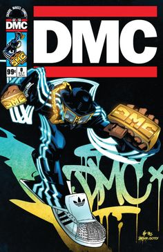 "Hip Hop Icon, Darryl ""DMC"" McDaniels Will Be Unveiling Issue of His Own Comic Book at Comic Con in New York City! Darryl ""DMC"" McDaniels will be autographing the first copies of his amazing pro… Arte Do Hip Hop, Hip Hop Art, 80s Hip Hop, Hip Hop And R&b, Run Dmc, Comic Art, Comic Books, Rapper Art, How To Make Comics"