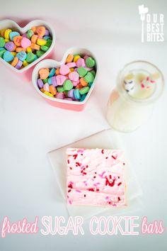 Super Easy Sugar Cookie Bars