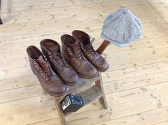 My Alka Box and Stetson Red Wing Iron Ranger, Hiking Boots, Box, Shoes, Fashion, Moda, Snare Drum, Zapatos, Shoes Outlet