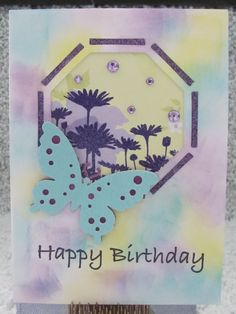 I just listed Octagon Butterfly Happy Birthday OOAK handmade greeting card on The CraftStar @TheCraftStar #uniquegifts