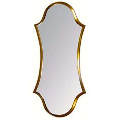 Preowned La Barge Cartouche-form Gilt Framed Mirror ($2,250) ❤ liked on Polyvore featuring home, home decor, mirrors, multiple, la barge mirror, gilt mirror, hollywood regency mirror, gilt framed mirror and la barge