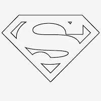 Multiple super hero templates for your super hero themed crafts