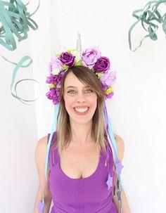 DIY fantasia feminina: como fazer uma coroa de unicórnio para o carnaval!