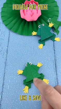 Bird Paper Craft, Paper Folding Crafts, Paper Roll Crafts, Paper Crafts Origami, Fabric Crafts, Hand Crafts For Kids, Animal Crafts For Kids, Diy Arts And Crafts, Toddler Crafts