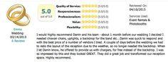 Review us on Wedding Wire! http://www.weddingwire.com/vendor/VendorViewStoreFront?mode=edit=reviews