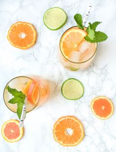 Citrus Orange Mojitos