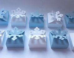 Caixa floco de neve