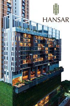 Vertical Garden at Hansar Bangkok -   www.hansarbangkok.com