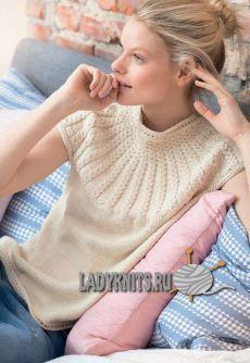Sweater Knitting Patterns, Knitting Stitches, Knitting Designs, Hand Knitting, Cable Knitting, Knitting Needles, Norwegian Knitting, Knitting Magazine, Summer Knitting