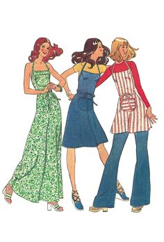 Vintage 70s Simplicity 6915 Sewing Pattern for Misses Back