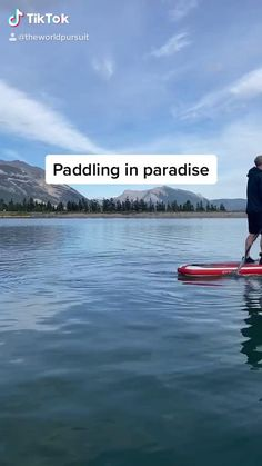 The best places to stand up paddle board in the Canadian Rockies