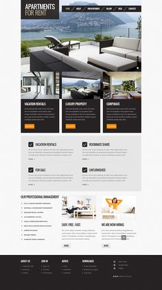Charity Organization Joomla Template On Behance Joomla Templates - Home remodeling website templates