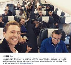 Tom Hiddleston. Via his IG.