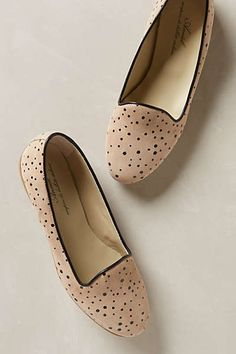 Anthropologie Speckled Loafers