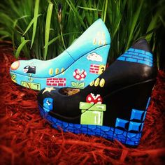 56 Notoriously Nerdy Shoes - From 8-Bit Peep Toes to Geeky Sci-Fi Stilettos (TOPLIST)