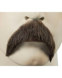Silly Fake Moustache Stick on Tash Facial Hair Victorian Fancy Dress Costume NEW