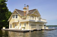 15 Winchester Drive. Lake Rosseau, ON. Boat and guest house.