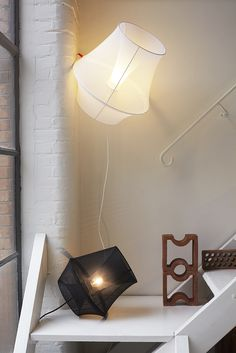 The Moire lamp by Marc Sarrazin for Petite Friture. © photo : Ola Rindal.