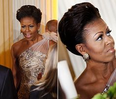 Seriously our First Lady's swag is on high at all times! Chelly-O