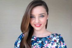 """10 beauty ful minutes with Miranda Kerr: Argan Oil, Emu Oil, Coconut Oil, Olive Oil, Cod Liver Oil, Seaweed and more. """"I try to fill my body with nutrients."""" On how she starts the day: """"With an organic, cold-pressed green juice. Throughout the day I'll drink fresh coconut water to maintain my energy levels.""""  ....  Salma Hayek's Beauty Products"""