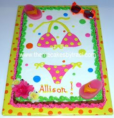 pool party cakes for kids | Cake Gallery :: Cookies/Cookie Cakes :: CIMG1453