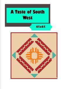 (4) Name: 'Crocheting : Southwest Design 65 x 65