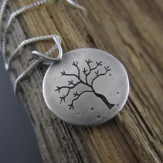 Winter in Michigan Sterling Silver Pendant, as seen on our 'Gifts Under $100' page!