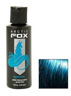 Arctic Fox Semi-Permanent Aquamarine Hair Dye,