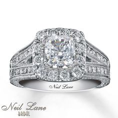 neil lane engagement rings | Kay - Neil Lane Engagement Ring 2 ct tw Diamonds 14K White Gold