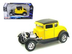 1929 Ford Model A Yellow 1/24 Diecast Model Car by Maisto