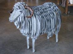 corrugated animal | Sheep