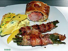 Filet pur porc en croûte farci au philadelfia