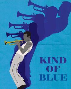 New Ideas Music Poster Jazz Miles Davis Miles Davis Poster, Pochette Cd, Motif Art Deco, Jazz Poster, Jazz Art, Jazz Club, Kind Of Blue, Cool Jazz, Music Artwork