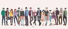 Naruto Big Family