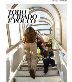 Felipe, o pequeno viajante: Revista Kids In: todo cuidado é pouco (para não perder as crianças nas viagens!)