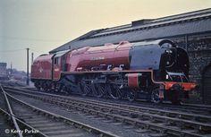 46251 City of Nottingham. Steam Trains Uk, Steam Railway, Railroad Photography, Train Times, Train Pictures, British Rail, Old Trains, Train Engines, Train Car