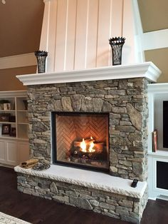 Minneapolis interior fireplaces by Twin City Fireplace and Stone Company.