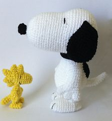 Snoopy & Woodstock Amigurumi patterns