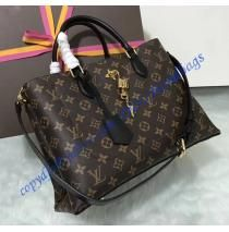 Louis Vuitton Monogram Canvas Flower Tote Noir M43550 Cheap