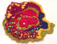 Selvage Blog: Free-Form Crochet