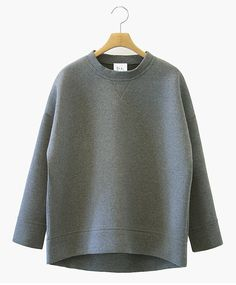 neoprene sweatshirt.
