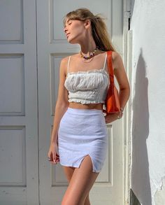 Image about girl in summer fashion by lana 🍒 on We Heart It Mode Outfits, Trendy Outfits, Fashion Outfits, Tomboy Outfits, Fashion Ideas, Fashion Killa, Look Fashion, Trendy Fashion, Girl Fashion