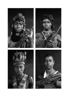 Portraits of child soldiers from Sierra Leone in 2001 by Guy Tillim