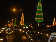 Medellin Colombia Christmas Lights