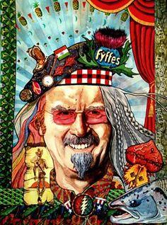 BBC Arts - BBC Arts - Ten of your brilliant Billy Connolly portraits