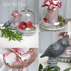 Dekocollage im Herbst : grau und rot * decoration inspiration in grey and red Collage, Pink Grey, Blog, Table Decorations, Inspiration, Home Decor, Deko, Biblical Inspiration, Collages