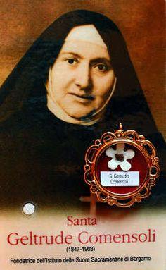 Image of St. Gertrude Caterina Comensoli