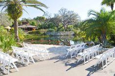 wedding ceremony-outback oasis- orlando wedding venues